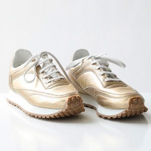 COMME DES GARCONS Leather Spalwart Sneakers